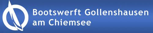 Bootswerft Gollenshausen am Chiemsee